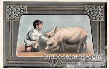 pig001078 - pottie  Postcards Post Cards Old Vintage Antique