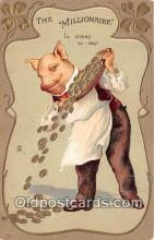 pig001101 - Millionaire  Postcards Post Cards Old Vintage Antique