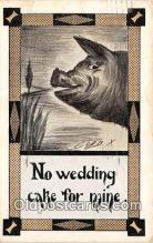pig001120 - No Wedding Cake Artist Cobb Shinn Postcards Post Cards Old Vintage Antique