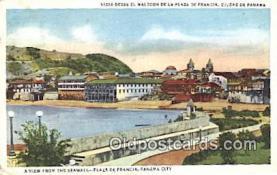 pnc001027 - Plaza De Francia, Panama Canal Postcard Postcards