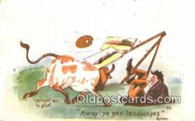 pnt001009 - Artist Byron Art, Artist, Paint Palettes & Easels Postcard Postcards