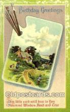 pnt001037 - Art, Artist, Paint Palettes & Easels Postcard Postcards