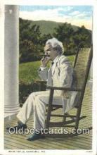 poe001014 - Mark Twain Author & Poets Postcard Postcards