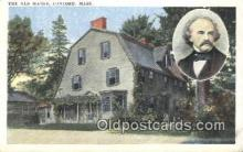 poe001030 - The Old Manse, Concord, Mass Made Famous By Hawthorne Author & Poets Postcard Postcards