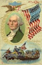 pol001002 - George Washington 1st USA President Postcard Postcards
