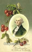pol001004 - George Washington 1st USA President Postcard Postcards