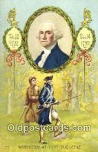 pol001008 - George Washington 1st USA President Postcard Postcards