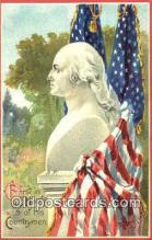 pol001010 - George Washington 1st USA President Postcard Postcards