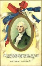 pol001011 - George Washington 1st USA President Postcard Postcards