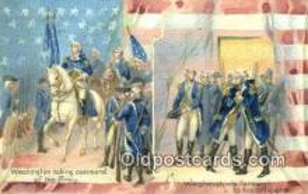 pol001017 - George Washington 1st USA President Postcard Postcards