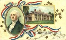 pol001018 - George Washington 1st USA President Postcard Postcards