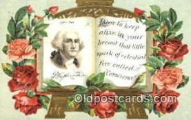 pol001020 - George Washington 1st USA President Postcard Postcards