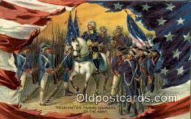 pol001031 - United States first President George Washington Postcard Postcards