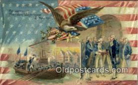 pol001032 - United States first President George Washington Postcard Postcards