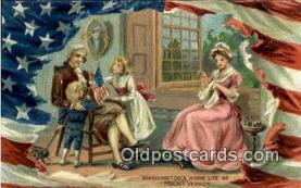 pol001033 - United States first President George Washington Postcard Postcards