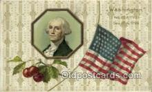 pol001035 - United States first President George Washington Postcard Postcards