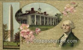 pol001038 - United States first President George Washington Postcard Postcards
