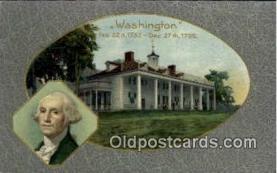 pol001039 - United States first President George Washington Postcard Postcards
