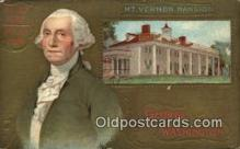 pol001041 - United States first President George Washington Postcard Postcards
