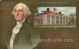 pol001041 - United States first President George Washington Postcard Postcards