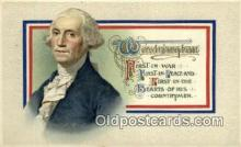 pol001042 - United States first President George Washington Postcard Postcards