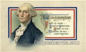 pol001042 - United States first President George Washington Postcard Postcards