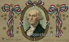 pol001043 - United States first President George Washington Postcard Postcards