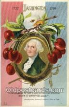 pol001054 - United States first President George Washington Postcard Postcards