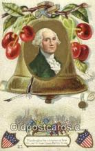 pol001055 - United States first President George Washington Postcard Postcards