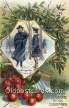 pol001064 - United States first President George Washington Postcard Postcards