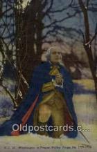 pol001069 - United States first President George Washington Postcard Postcards