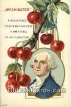 pol001072 - United States first President George Washington Postcard Postcards