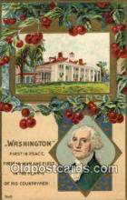pol001073 - United States first President George Washington Postcard Postcards