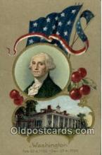 pol001076 - United States first President George Washington Postcard Postcards