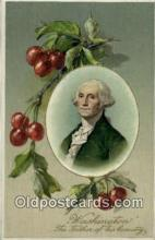 pol001077 - United States first President George Washington Postcard Postcards