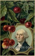 pol001078 - United States first President George Washington Postcard Postcards