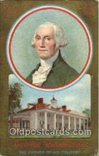 pol001080 - United States first President George Washington Postcard Postcards