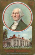 pol001080 - United States first President George Washington Postcard Postcards