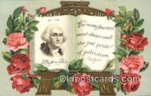 pol001084 - George Washington 1st USA President Postcard Postcards