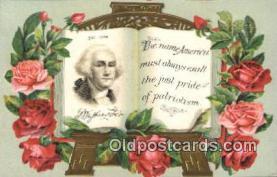pol001084 - George Washington 1st USA President Postcard Postcards