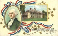 pol001086 - Ellen H. Clapsadale George Washington 1st USA President Postcard Postcards