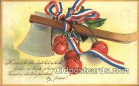 pol001087 - Ellen H. Clapsadale George Washington 1st USA President Postcard Postcards