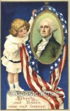 pol001102 - Ellen H. Clapsadale George Washington 1st USA President Postcard Postcards