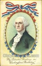 pol001103 - Ellen H. Clapsadale George Washington 1st USA President Postcard Postcards