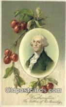 pol001110 - George Washington, 1st President USA, Political, Old Vintage Antique Postcard Post Card
