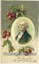 pol001110 - George Washington, 1st President USA, Political, Old Vintage Antique Postcard Post Card