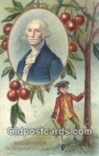 pol001113 - George Washington, 1st President USA, Political, Old Vintage Antique Postcard Post Card