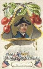 pol001115 - George Washington, 1st President USA, Political, Old Vintage Antique Postcard Post Card