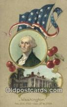 pol001119 - George Washington, 1st President USA, Political, Old Vintage Antique Postcard Post Card