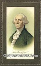 pol001121 - George Washington, 1st President USA, Political, Old Vintage Antique Postcard Post Card